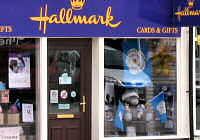 Hallmark flies the flag